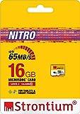 Strontium Nitro 16GB 65MB/s Class 10 UHS-1 microSDHC Card (SRN16GTFU1R)