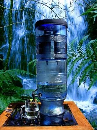 Berkey Light Water Filter With 2 Black Filter Elements