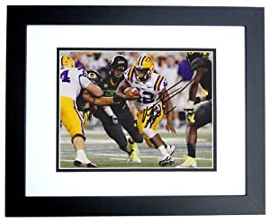 Michael Ford Autographed Hand Signed LSU Tigers 8x10 Photo - BLACK CUSTOM FRAME -... by Real+Deal+Memorabilia