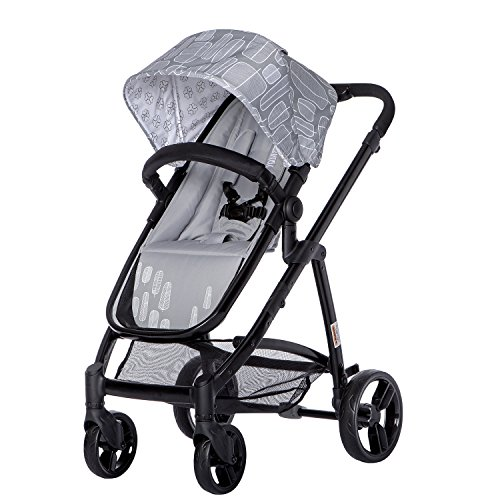 Mia-Moda-Marisa-Three-in-One-Stroller-Grey