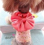 (ドッグドリス)DogDelis 花柄ゆかた風トップス 浴衣 帯 Tシャツ パーカー トップス ドッグウェア ドッググッズ ドッグ用品 衣装 服 洋服 ペット ワンちゃん 犬 184-0804ps