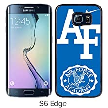 buy Air Force Academy Black Samsung Galaxy S6 Edge Screen Cover Case Luxurious And Fashion Design