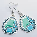 Earrings - Minecraft - Diamond