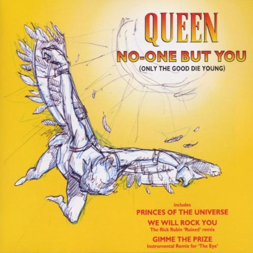 Original album cover of No-One But You by Queen