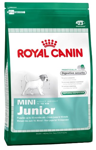 royal canin mini junior 4 kg available at amazon for. Black Bedroom Furniture Sets. Home Design Ideas