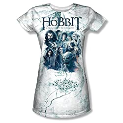 The Hobbit: Battle Of The Five Armies Ready For Battle Junior Fit All Over Print Front T-Shirt
