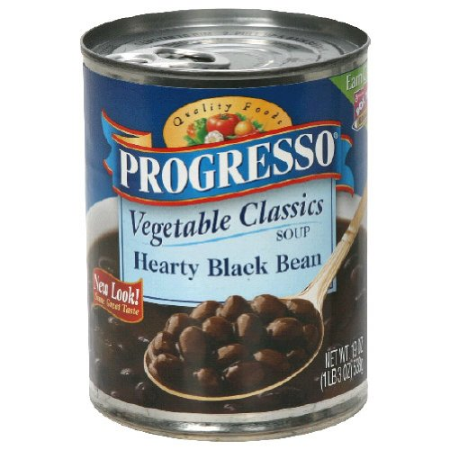 Progresso, Hearty Black Bean, 19 OZ (Pack of 12)