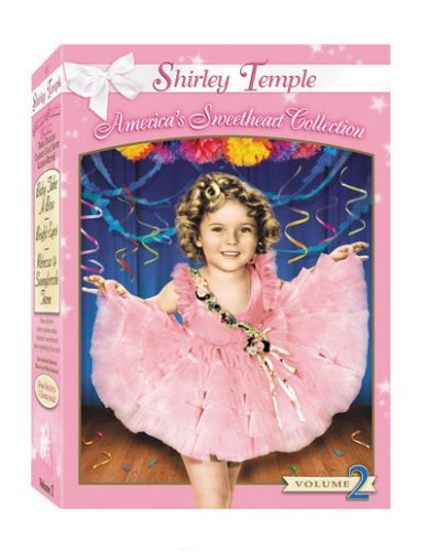 Shirley Temple - America's Sweetheart Collection, Vol. 2 (Bright Eyes / Baby Take a Bow / Rebecca of Sunnybrook Farm)