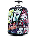 Monster High 30335355 Hardshell Rolling Luggage Case - Ghouls