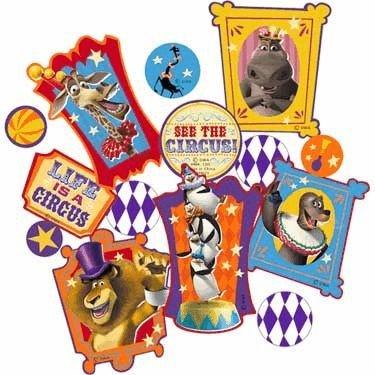 Madagascar '3' Confetti (1 bag) - 1