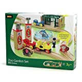 BRIO 33008 Wooden Railway Zoo Garden Set