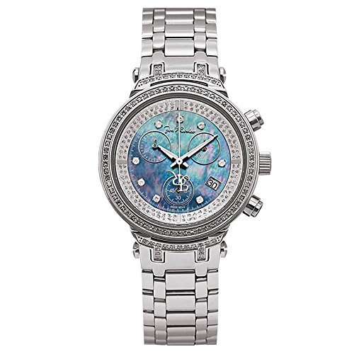 Joe Rodeo Diamant Femme Montre - MASTER argent 0.9 ctw