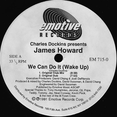 Wake Up We Can Do It James Howard
