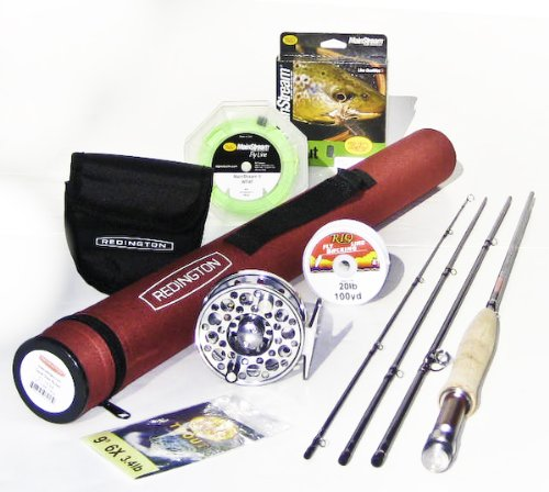 Redington CT Classic Trout 9054 Fly Rod Outfit (9'0&quot;, 5wt, 4pc)