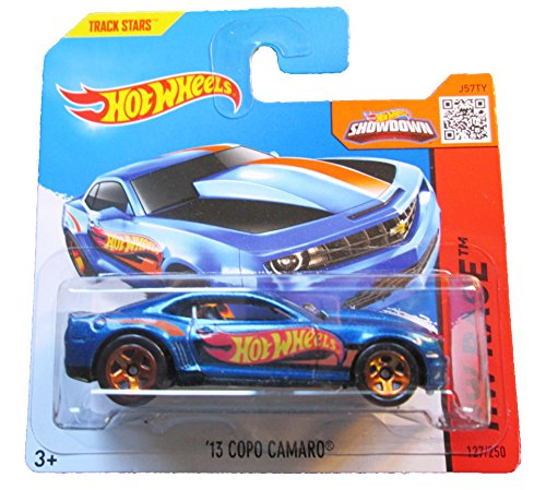 Hot Wheels - 2015 HW Race - '13 Copo Camaro on Short Card - 1