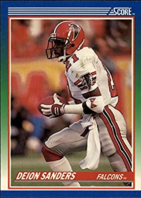 Deion Sanders Football Card (Atlanta Falcons) 1990 Score #95 Rookie