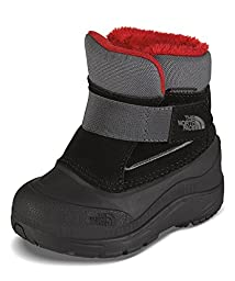 The North Face Infants/Toddlers Alpenglow Boot,TNF Black/Zinc Grey,US 8 M