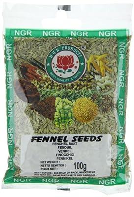 Ngr Fenchelsaat, 100g, 4er Pack (4 x 100 g Packung) von Ngr bei Gewürze Shop