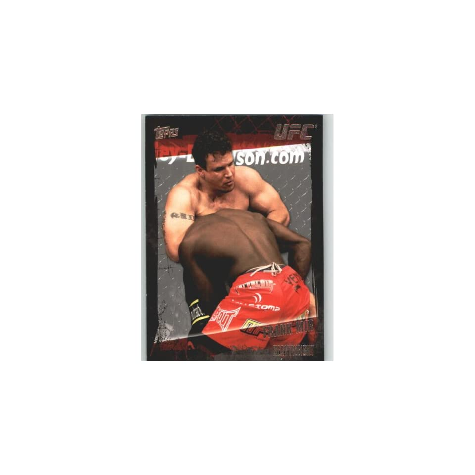 2010 Topps UFC Trading Card # 57 Frank Mir (Ultimate