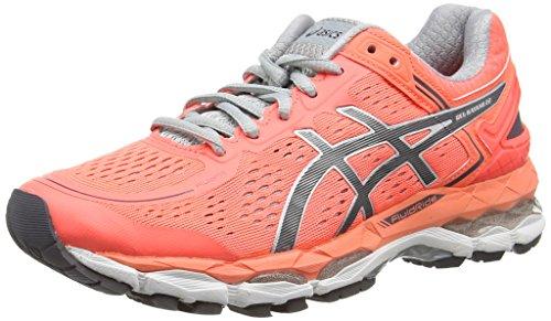 asics-gel-kayano-22-womens-running-shoes-pink-flash-coral-carbon-silver-grey-0697-6-uk