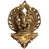 Ganesha Wall Hanging Lamp Elegant Look Decorative Piece By Vyomshop