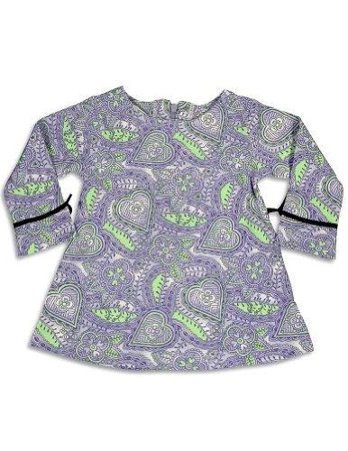 Snopea - Baby Girls Long Sleeve Dress, Purple 25819-18Months front-511536