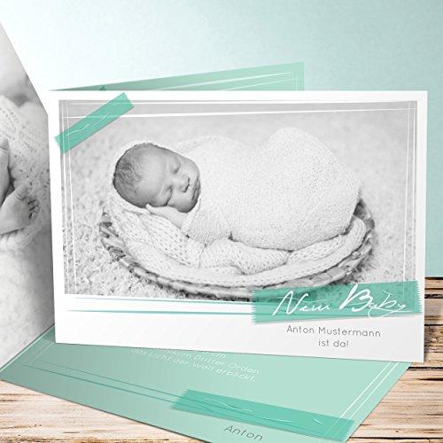 Geburtskarten gestalten start ins leben 5 karten for Geburtskarten selber gestalten