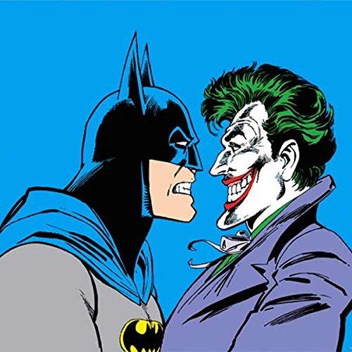 DC Comics The Joker iPhone 5&5s Skin - Batman vs Joker - Blue Background Vinyl Decal Skin For Your iPhone 5&5s at Gotham City Store