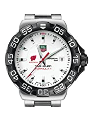 University of Wisconsin TAG Heuer Watch - Men's Formula 1 Watch with Braceler