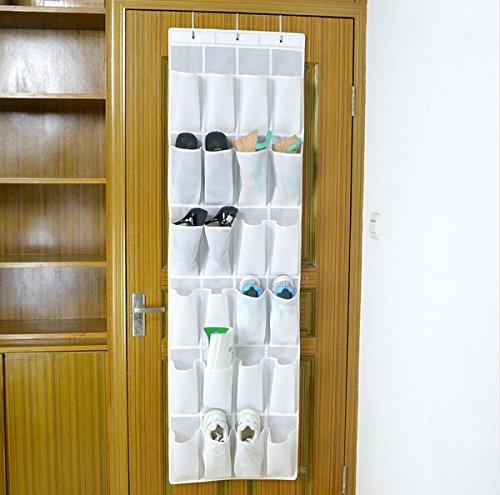 Bekith-Hngeorganizer-Aufbewahrungstasche-Ordnungssystem-Schuhaufbewahrung-Fr-Tr-mit-24-Taschewei