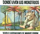 Donde Viven Los Monstruos Spanish Hardcover Book