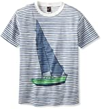 Charlie Rocket Boys 8-20 Sailboat Stripe T