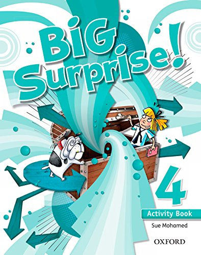 Big Surprise 4: Activity Book and Multi-ROM Pack