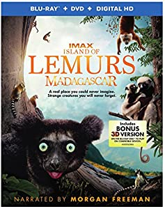 Island of Lemurs: Madagascar (Blu-ray + DVD + Digital HD UltraViolet Combo Pack With Bonus Blu-ray 3D) by Warner Home Video