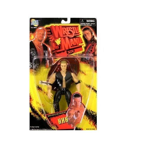 WWF Wrestlemania XIV HHH Action Figure