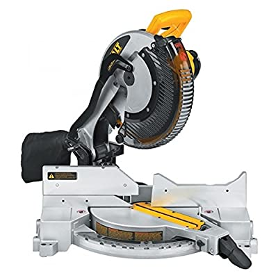 DEWALT DW715 15-Amp 12-Inch Single-Bevel Compound Miter Saw