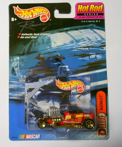 Hot Wheels Racing Hot Rod series #94 McDonald's car #3 of 4 in series