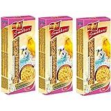 Vitapol Honey Smakers Bird Treats For Bugies 90g (Pack Of 3)