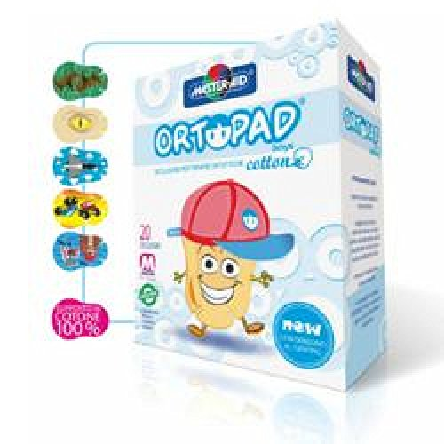 Cer Ortopad Cotton Boys J 20pz