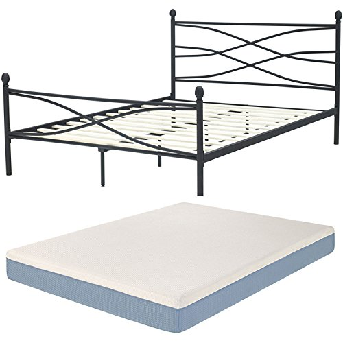 Rent to Own Hanover HMTSOHO10-TN Soho Metal Twin Platform Bed Frame ...
