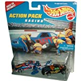 Mattel Hot Wheels 1996 Action Pack Series 1:64 Scale Die Cast Metal Car # 16155 - RACING Race To Vic