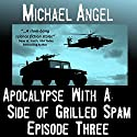 Apocalypse with a Side of Grilled Spam: Episode Three (The Strangelets Series) (       UNABRIDGED) by Michael Angel Narrated by Jon Goffena