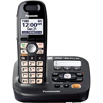 Panasonic KX-TG6591T dect 6.0 Cordless Phone with 1-Handset