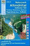 Naturpark Altmühltal östlicher Teil 1 : 50 000: Parsberg, Riedenburg, Mainburg, Regensburg-West, Kelkheim. Altmühl-Panoramaweg, Jakobsweg, Juraweg (UK 50-25)