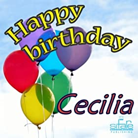 Amazon.com: Happy Birthday Cecilia (Auguri Cecilia): Michael & Frencis