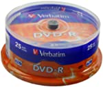 Verbatim 43522 16x DVD-R - Spindle 25...