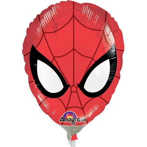 Ultimate Spiderman Head Mini Shape