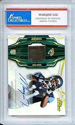 Marqise Lee Autographed Jacksonville Jaguars Encapsulated Trading Card - Certified Authentic