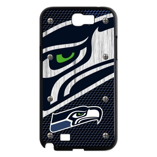 Brand New Designer NFL Seattle Seahawks Logo Slim Styles Hard Case Cover For Samsung Galaxy Note 2 N7100 at Amazon.com