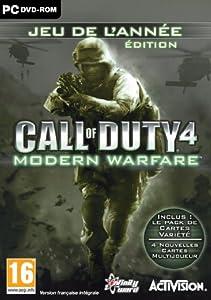 Call of Duty 4: Modern Warfare - édition jeu de l'année